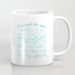 moon quote Coffee Mug
