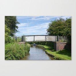 Whitley Bridge Canvas Print