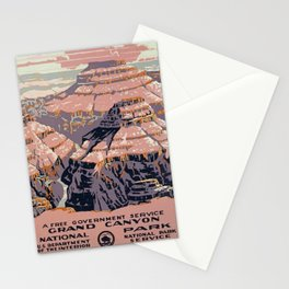 Grand Canyon Vintage Stationery Cards