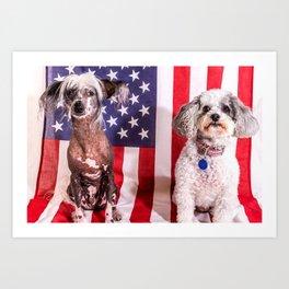 Mo & Millie Art Print