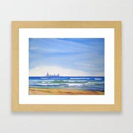 April In Miller Framed Art Print