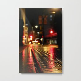 Diluted Metal Print
