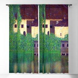 Gustav Klimt Unterach Manor Blackout Curtain
