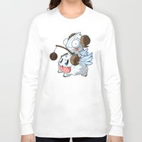 invader zim Long Sleeve T-shirts featuring Invader Poro Pix by HelloTwinsies