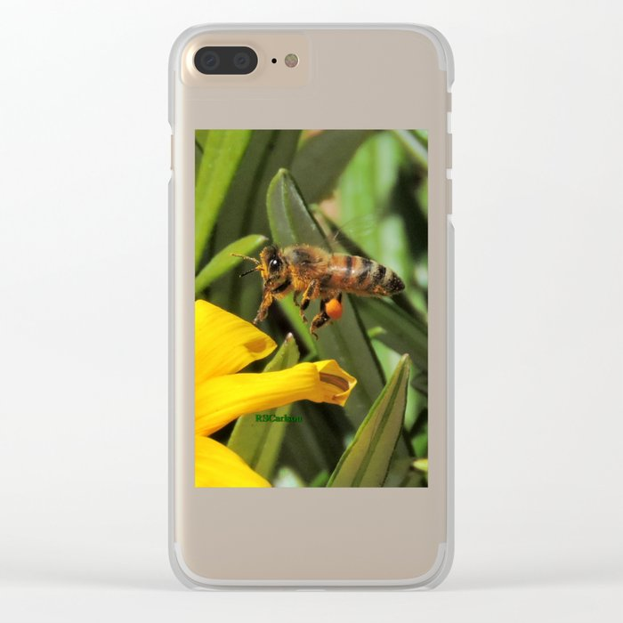 Pollen Express 221 Clear iPhone Case