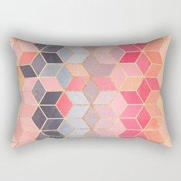 Happy Cubes Rectangular Pillow