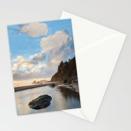 Setting Sun At Moonstone Stationery Cards