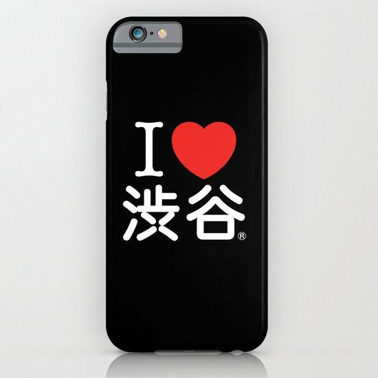 I ♥ Shibuya iPhone & iPod Case