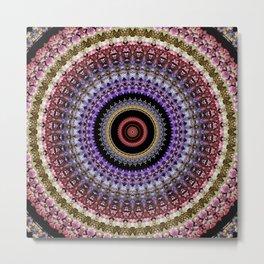 Flower mandala 7 Metal Print