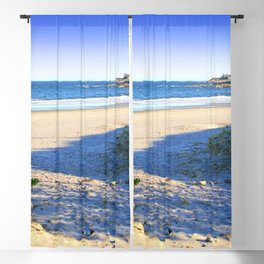 The Towers - Narragansett Town Beach, Rhode Island Blackout Curtain