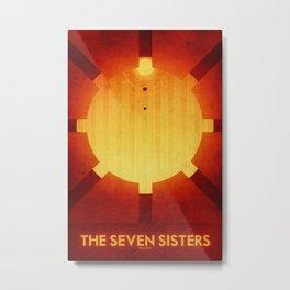 Mars - The Seven Sisters Metal Print