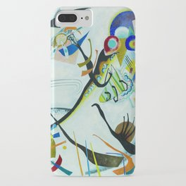 Vassily Kandinsky 1921 Segment blue iPhone Case