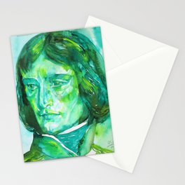 NAPOLEON - watercolor portrait.2 Stationery Cards