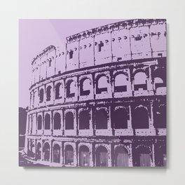 Purpura Coliseum Metal Print