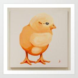 The Chick Art Print