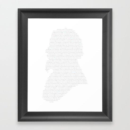 Charles Dickens Framed Art Print