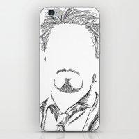 tony stark iPhone & iPod Skins featuring Tony Stark by  Steve Wade ( Swade)