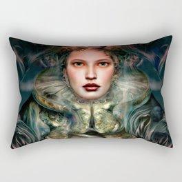 """Dream Winter, Spring Awakening"" Rectangular Pillow"