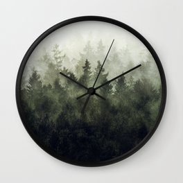 The Heart Of My Heart // Green Mountain Edit Wall Clock