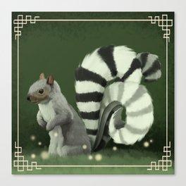 The Fantastical Squirrel Canvas Print