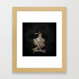Unloved toy Framed Art Print