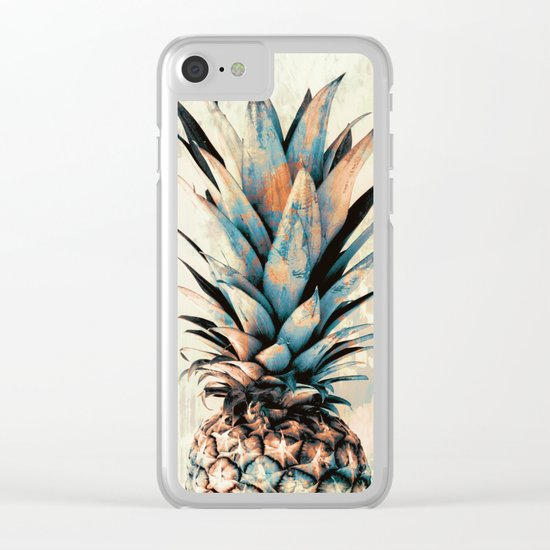PINEAPPLE 3 Clear iPhone Case