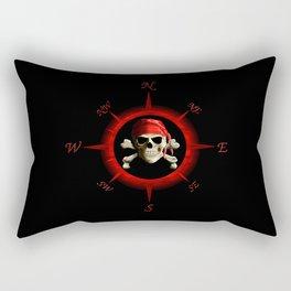 Pirate Compass Rose Rectangular Pillow