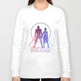Reylo will rule the galaxy! Long Sleeve T-shirt