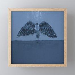 Ascending Angel Framed Mini Art Print