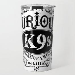 curious k-9's les nyc Travel Mug