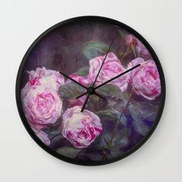 Rose 412 Wall Clock