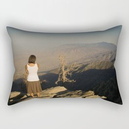 Endless Desert - Overlooking the Palm Springs Valley Rectangular Pillow