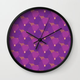 You're turning Violet, Violet Wall Clock
