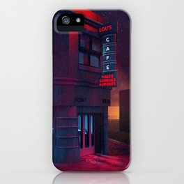 Back To The Future Lou's Cafe iPhone Case