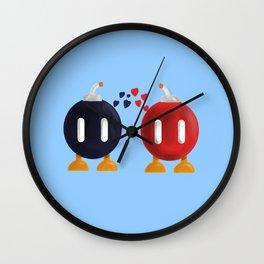 Bomb-Omb Love Wall Clock