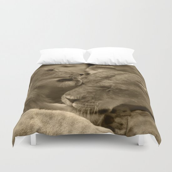 Mother and son II Duvet Cover