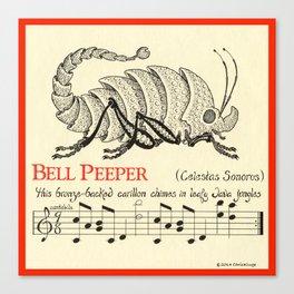 Bell Peeper   Celestus Sonorus Canvas Print