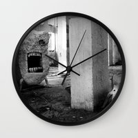 nightmare Wall Clocks featuring nightmare by MatoSwamp