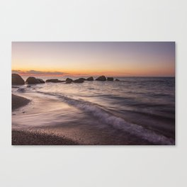 Tranquility after sunset Canvas Print