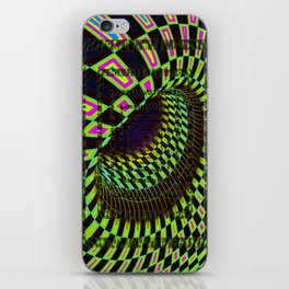 Tumbler #26 Optical Illusion Psychedelic Trippy Vibrant Design iPhone Skin