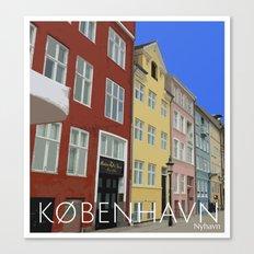 København - Nyhavn Canvas Print