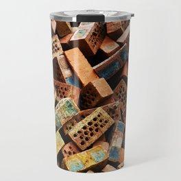 Chinese Bricks Travel Mug