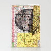 oklahoma Stationery Cards featuring Oklahoma by Ursula Rodgers