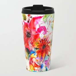 Watercolor garden II Travel Mug