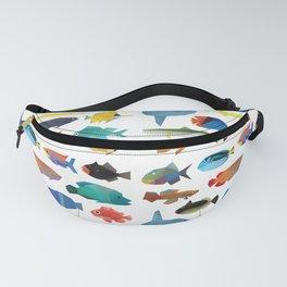 Tropical Fish chart Fanny Pack