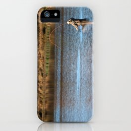 Gone Fishing 2 iPhone Case