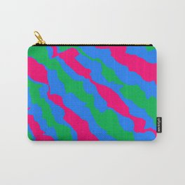 Three Colors Carry-All Pouch