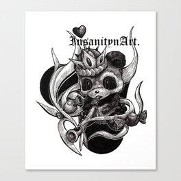 InsanitynArt's The True King of Hearts Original Illustration Canvas Print