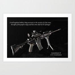 6e086242d 2nd amendment art prints | Society6