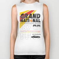 the national Biker Tanks featuring Grand National by CynthiaLeduc